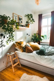 Fresh Plant In Bedroom Decorations