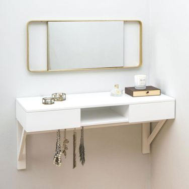 Hanging Table for a Charming Minimalist Dresser