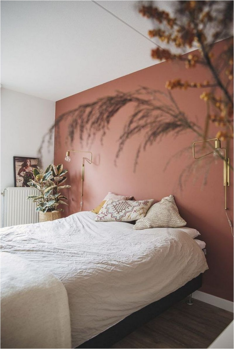White and Pastel for Bedrooms with an Amazing Half and Half Color Combination