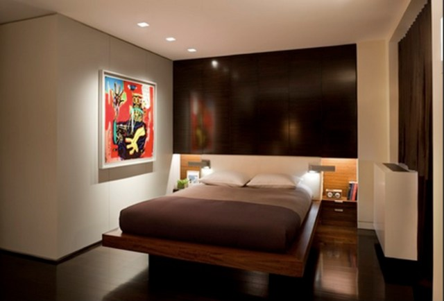 Accent Wall for Men's Bedroom Design with Contemporary Masculine Style