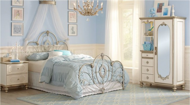 Classis And Luxury Princess Girl Bedroom