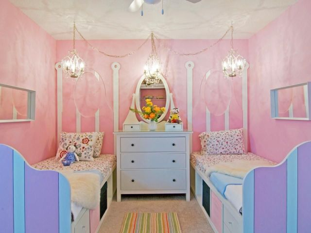 Hanging Lamp for Girls' Bedroom with Fairytale Theme