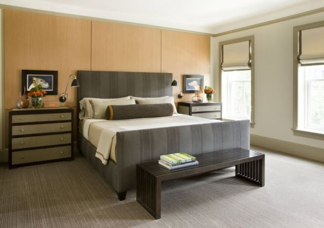 Little Decorations for Men's Bedroom Design with Contemporary Masculine Style