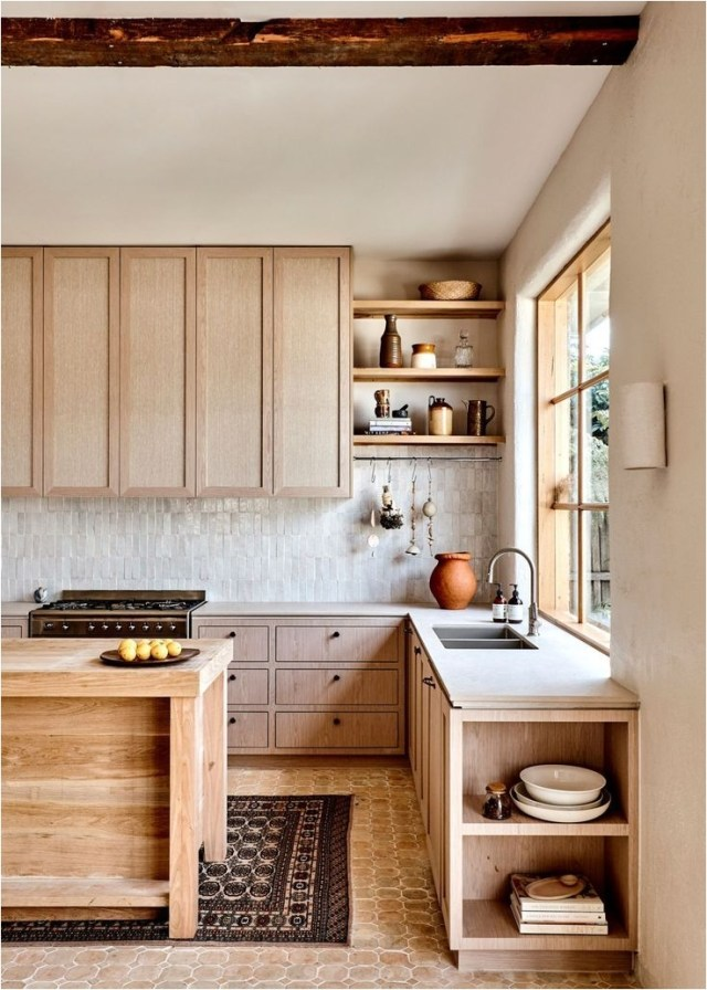 Low Budget Rustic Kitchen With Wood Ideas