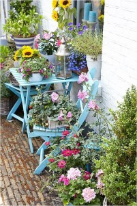 Pastel Color Flower Garden Ideas