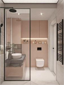 Pink And White Bathroom Decorations