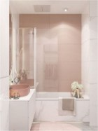 Pink Rustic Bathroom Decorations