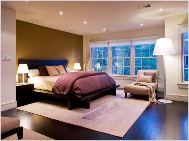 Simple for Men's Bedroom Design with Contemporary Masculine Style
