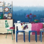 Typical Colors For Dining Room With All Blue Theme
