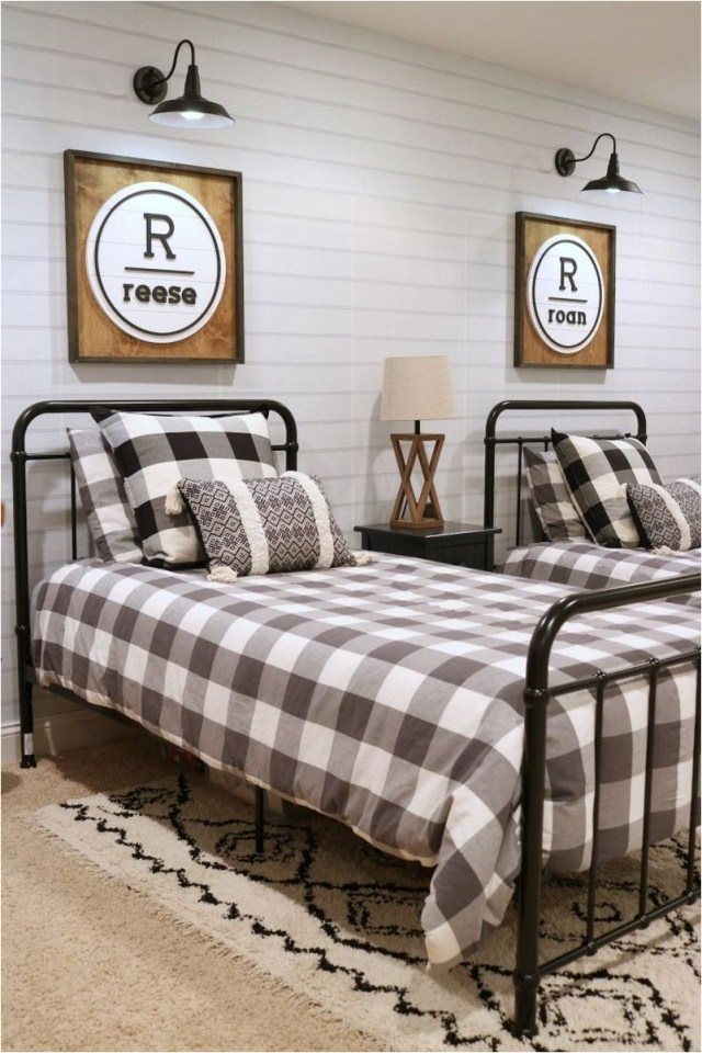 17 Initials For Twin Bedrooms