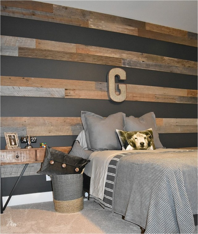 17 Natural Boys Bedroom With Initials