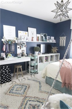 Accessories In Wall And Pendant Light For Teenage Bedroom