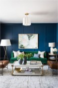 Blue Wall Living Room Ideas