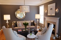Contemporary for Tips and Tricks to Decorate a Narrow Living Room