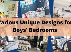 Various Unique Designs For Boys' Bedrooms