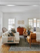White Classic Living Room Ideas