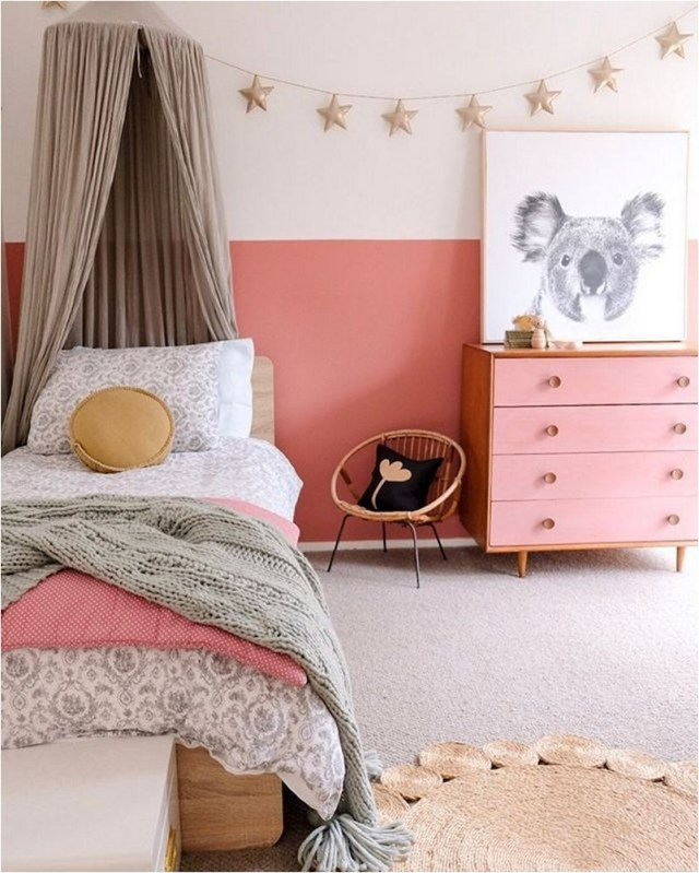 Earth Color For Girl Bedroom Ideas