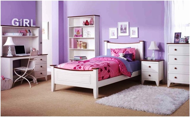 Purple for the Right Color of a Child's Bedroom