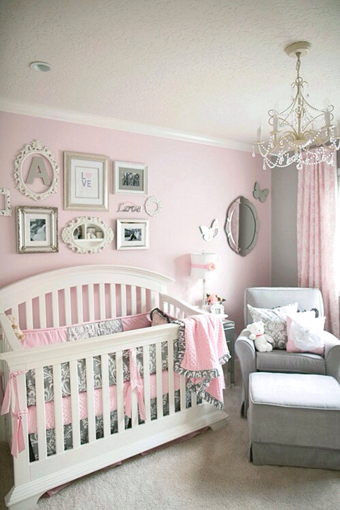 Cute Baby Girl Nursery Ideas Architecturein