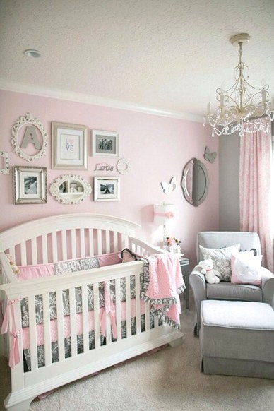 Cute Baby Girl Nursery Ideas