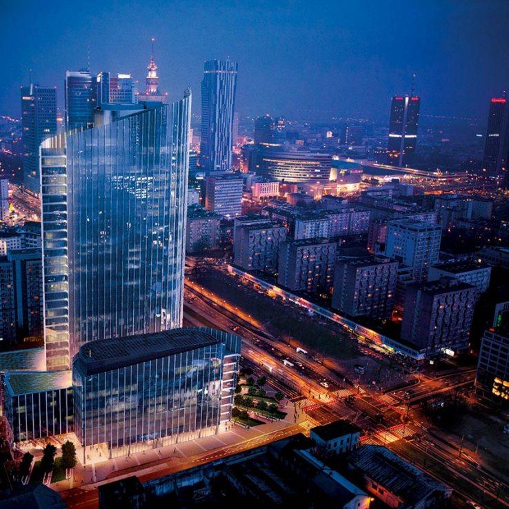 Light Tower Partners: Warsaw's New Office Skyscraper