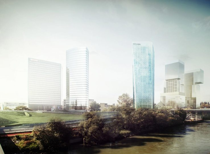 New office tower Schnirchgasse 11, Vienna / AZPML & SHARE architects