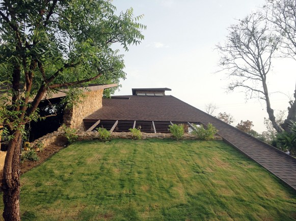 Gandhi Farmhouse at Nagpur, by Shirish Beri