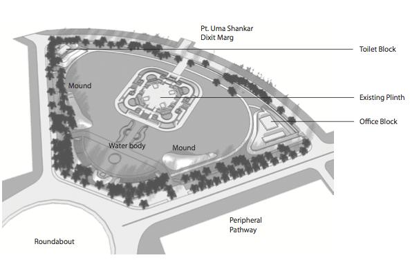 Concept Development - National Police Memorial - Studio Lotus