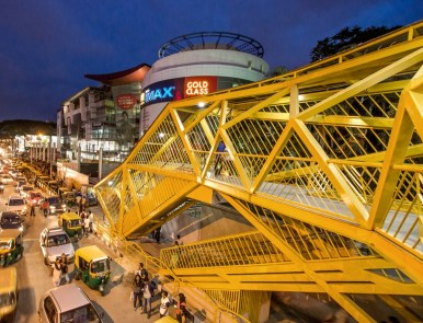 Forum Mall Foot Over Bridge-Bangalore - Maya Praxis