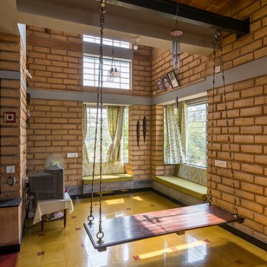 Prashanth Bhat House at Bangalore by Biome Environmental Solutions