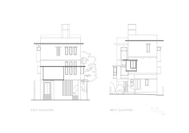 East and West Elevations