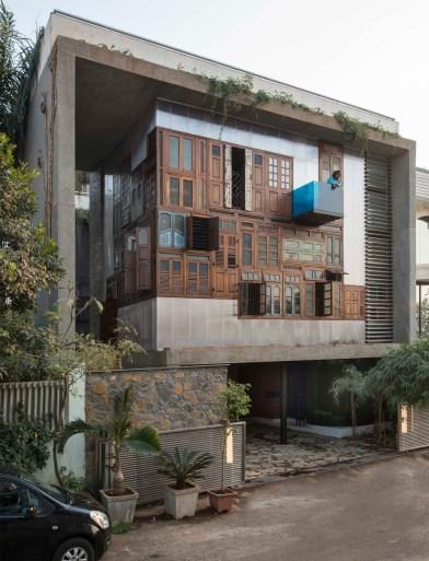 Collage House, Navi Mumbai - SPS-Architects-