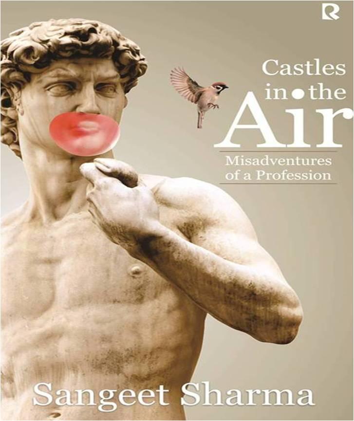 book cover - Castles in the air - Sangeet Sharma
