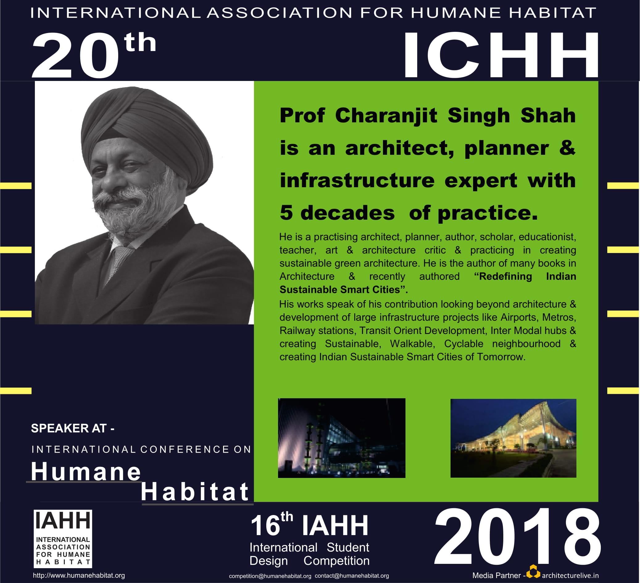 20TH INTERNATIONAL CONFERENCE ON HUMANE HABITAT – A CELEBRATION OF HUMANE ARCHITECTURE 3