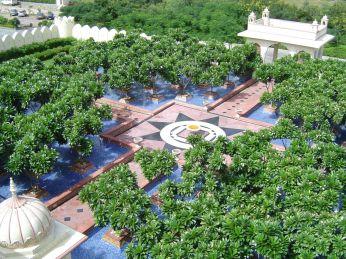 Le Merdian Hotel landscape by NMP Design Pvt. Ltd.