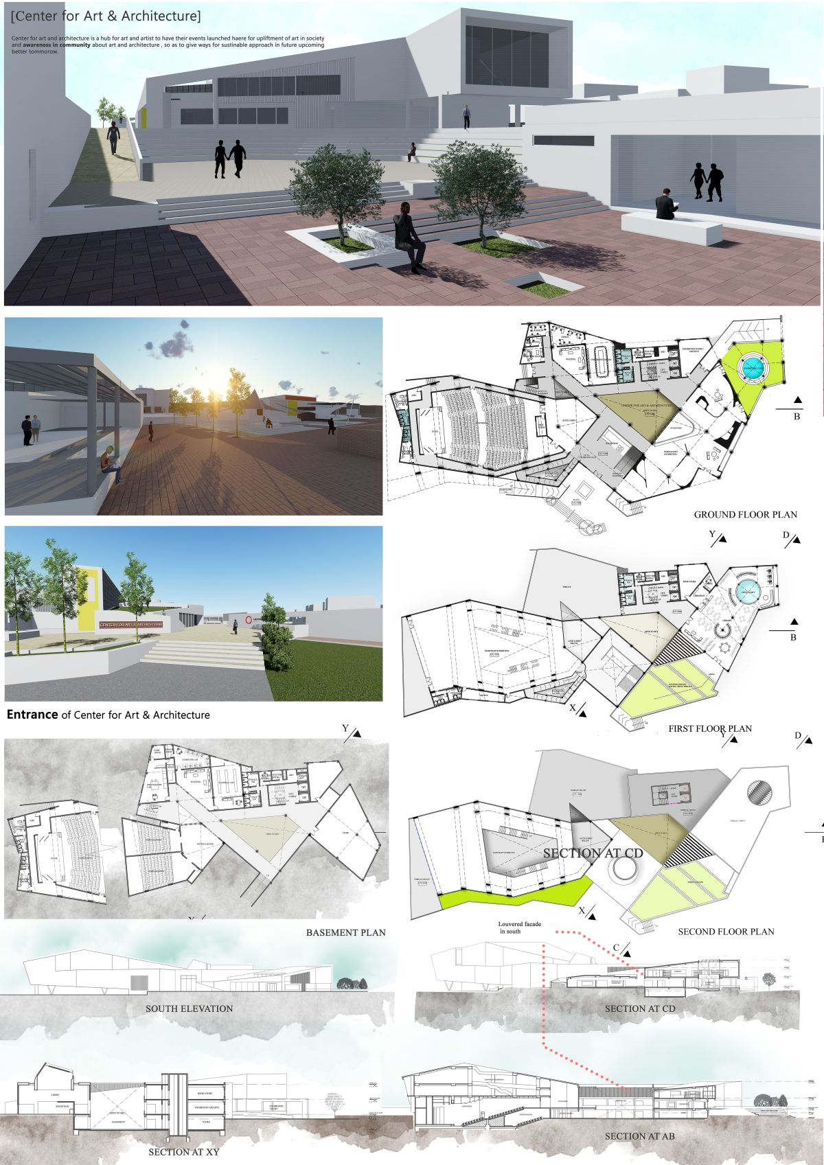 B Arch Thesis - Center for Art & Architecture: Role of an