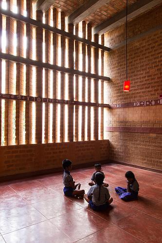 Mathru School at Bangalore by Chitra Vishwanath
