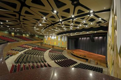Auditorium at BITS Pilani, RMM Designs