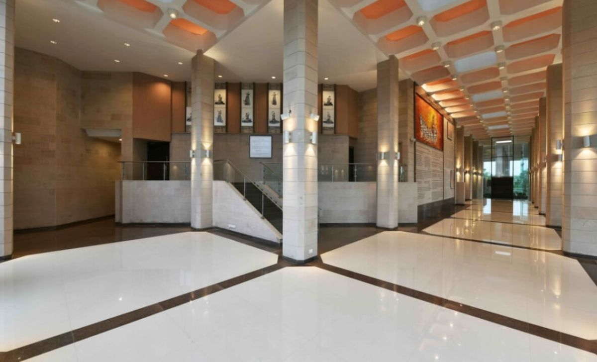 Auditorium Complex And Cafeteria At Mody University By