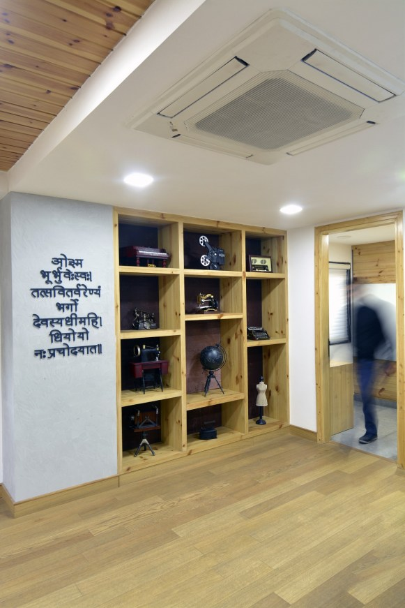 12 Cabinet in MD Room to showcase artefacts