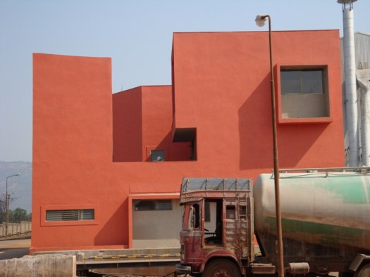 Lab for a Cement Factory at Goa Sachin Agshikar Architects