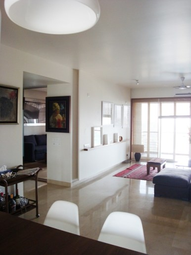 House at Prabhadevi at Mumbai by Sachin Agshikar Architects