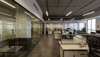 NGK Office at Gurugram by NCUBE Design