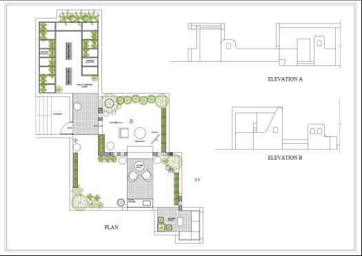 Drawing - Rooftop anacedots