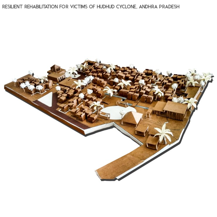 B.Arch Thesis: RESILIENT REHABILITATION FOR VICTIMS OF HUDHUD CYCLONE, ANDHRA PRADESH, by Sanand Telang 57