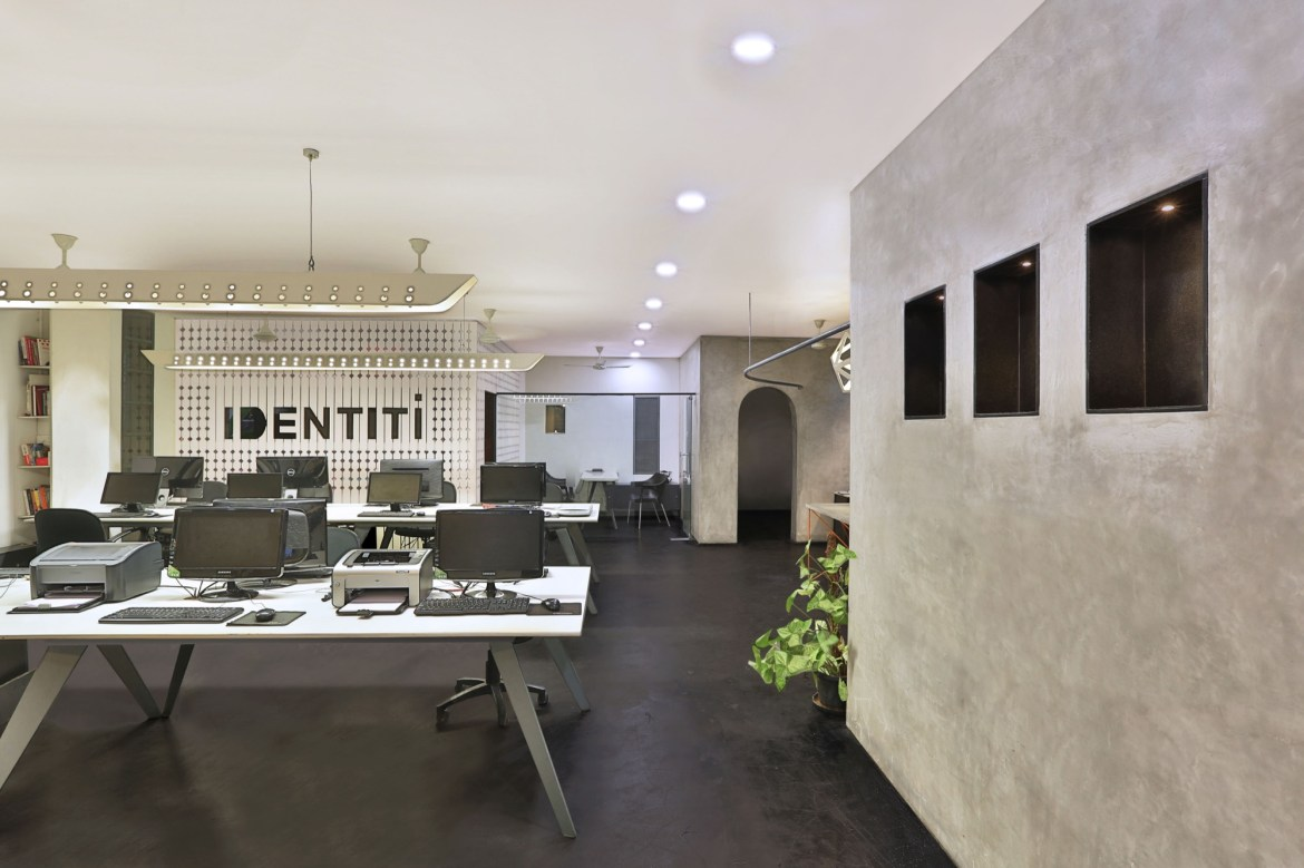 Renovation: office of Identiti Advertising, at Kochin, Kerala, by Meister Varma Architects 19