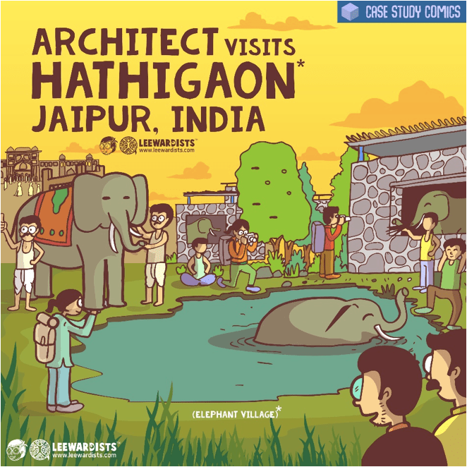 """Architects Who Do More: """"We address all the elephant's' in the room, with a touch of intelligent humor."""" - Anuj Kale, Leewardists 4"""