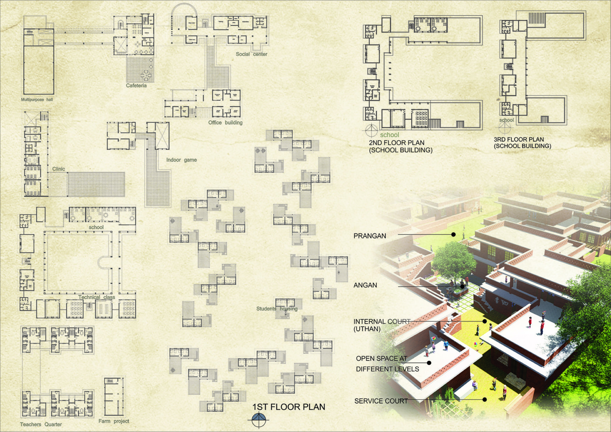 B.Arch Thesis - Space for identity,  Street Children Rehabilitation Centre, Md. Shahabuddin 5