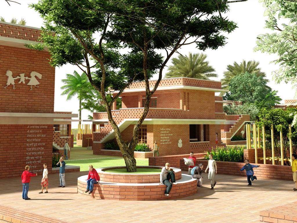 B.Arch Thesis - Street Children Rehabilitation Centre