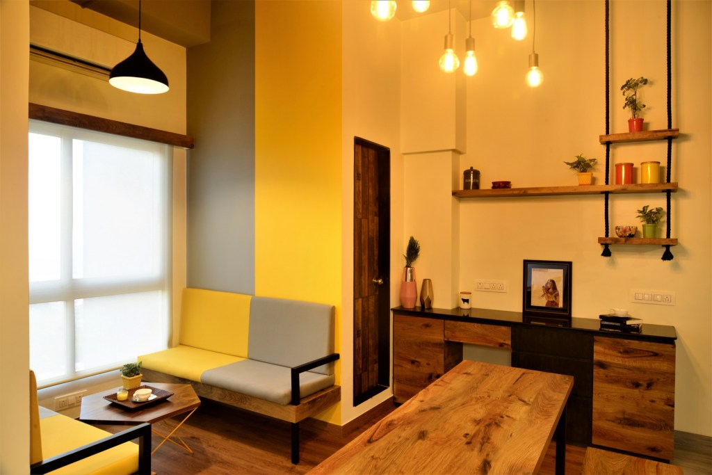 Yellow Is The New Black Auronova Office At Mumbai By The Design